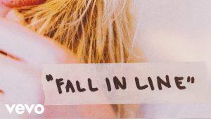 Christina Aguilera – Fall In Line (Lyric Video) ft. Demi Lovato