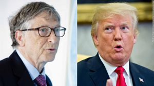 Bill Gates describes interesting encounters with Trump