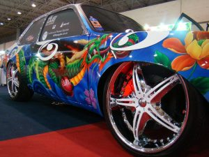 Exposure Wheels Painting Rent A Car